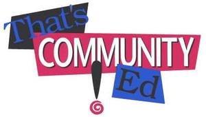 That's Community Ed